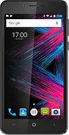 "Смартфон Pixus Volt Black с экраном 5"" IPS1280*720 4 ядра CPU,2Гб DDR16ГБ флеш-память"