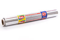 Фольга пищевая алюминиевая для запекания 150м/44см Top Pack® настоящая намотка