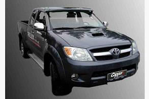 Козырек лобового стекла (на кронштейнах) Toyota Hilux