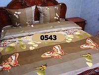 Двуспальный комплект постельного белья из бязи, Арт. 0543