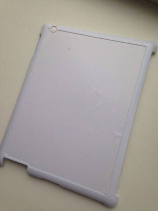 Чехол для 2D сублимации на планшете Ipad 2,3 белый пластиковый, фото 2