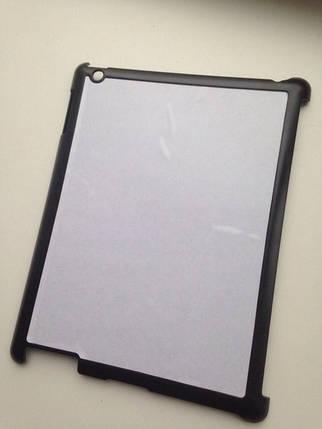 Чехол для 2D сублимации на планшете Ipad 2,3 черный пластиковый, фото 2