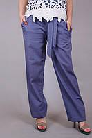 Брюки женские летние Лен 287 Б1, (7цв), брюки на лето, быстрая доставка по украине, льняные брюки, дропшиппинг