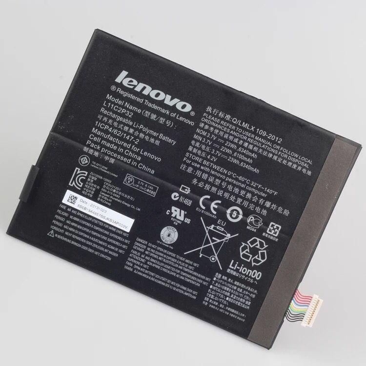Акумуляторна батарея L11C2P32 L12D2P31 для планшетів Lenovo IdeaPad S6000, IdeaTab A10-70 (A7600), Tab 2 A7-10