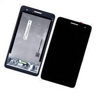 Дисплейний модуль для планшету Huawei MediaPad T1 7.0 3G #TV070WSM-TH0 в зборі з тачскріном чорний