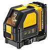 Лазер самовирівнювальна 2-х площинний DeWALT DCE088D1R