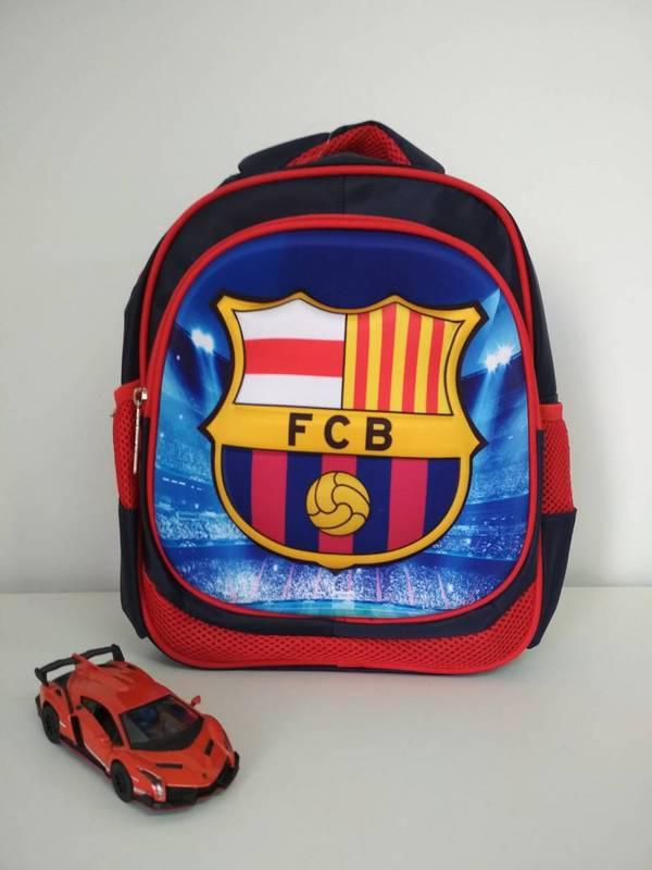 Синий школьный рюкзак для мальчика F.C. Barcelona 30*23*10 см