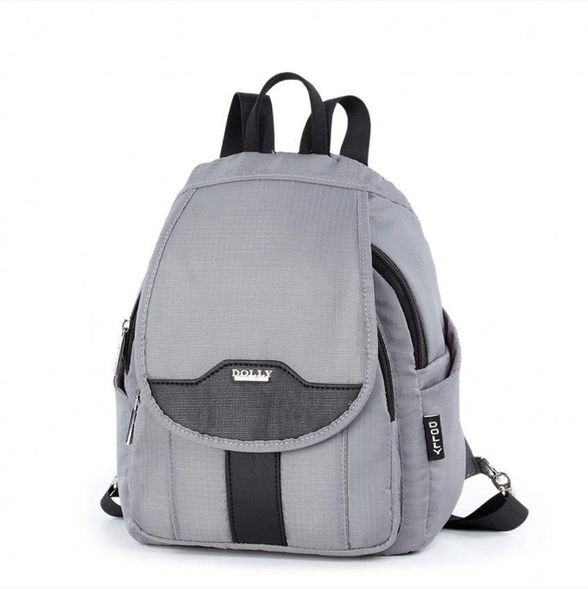 face585a04f1 Рюкзак Dolly 377 женский городской молодежный с карманами 24х30х15 см.
