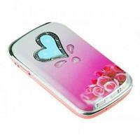 Телефон Nokia W666 Розовый - 2Sim раскладушка - Метал.корпус, фото 1
