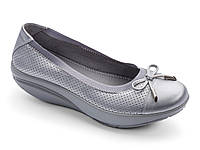 Балетки Walkmaxx Comfort Elegant 3.0  40 Длина стопы 26,5 см  Серебристый