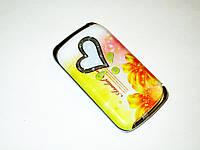 Телефон Nokia W666 Желтый - 2Sim раскладушка - Метал.корпус