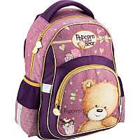 Школьный ортопедический рюкзак kite po18-518s popcorn bear
