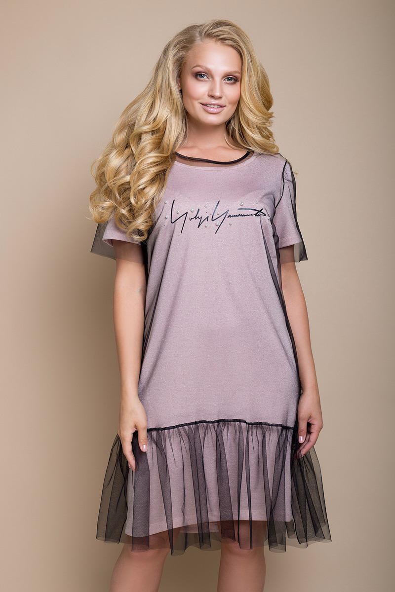 Платье большого размера Нила 985aa1291d72e