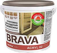 Грунтовка MAV BRAVA ACRYL 02 для изделий из древесины 20 литров