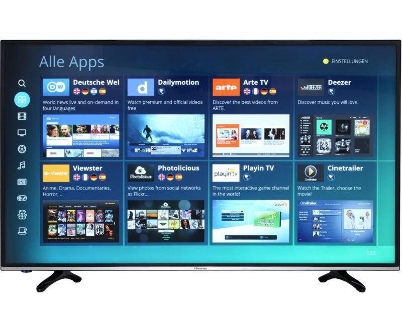 Телевизор Hisense H49MEC3050 (49дюймов, Smart TV, Ultra HD, 4K, WLAN, HDMI)