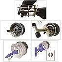 Знімач мотора нагрівника VOLVO (S60, S80, XC60, XC70, V70) 4433 JTC, фото 4