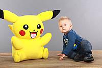 Мягкая игрушка Покемон Пикачу ( Pikachu), плюшевая игрушка 75 см, самый большой Пикачу