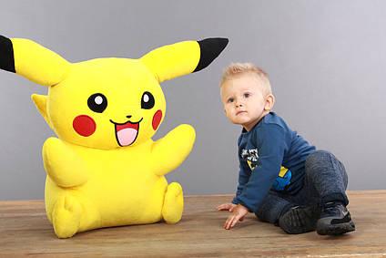 М'яка іграшка Покемон Пікачу ( Pikachu), плюшева іграшка 70 см, найбільший Пікачу