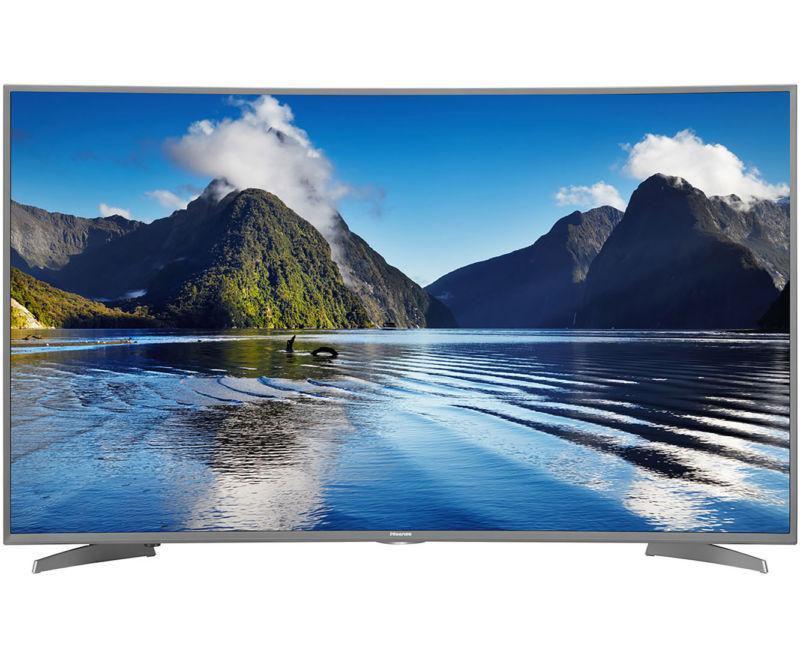 Телевизор Hisense H55MEC5650 (55 дюймов, изогнутый экран, PQI 1200 Гц, Ultra HD 4K, Smart, Wi-Fi)