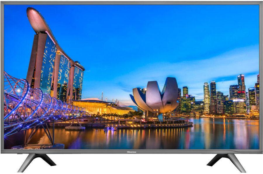 Телевизор Hisense H60NEC5605 (60 дюймов, Ultra HD, 4K, Smart TV, Dolby Digital Plus, HDMI)