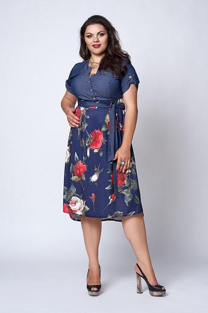 ada48e657 Женское платье Ангелина размер 50 52 54 56: продажа, цена в ...