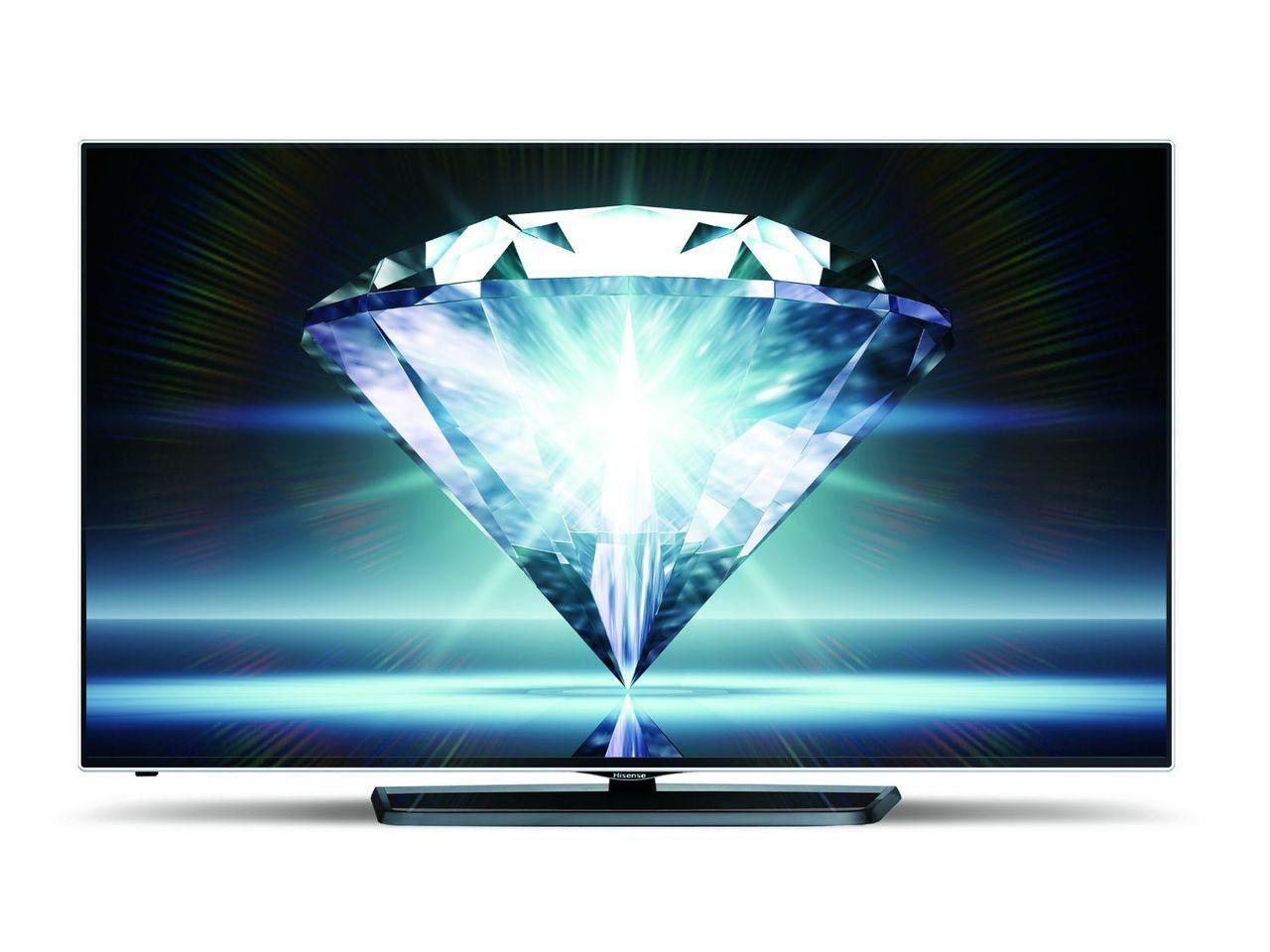 Телевизор Hisense LTDN55K681 (55 дюймов, Ultra HD, 4K, 3D, Smart TV, HDMI)