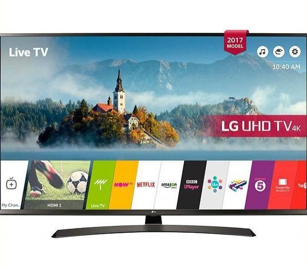 Телевизор LG 49UJ635V (PMI 1600 Гц,4KUltra HD, Smart TV, Wi-Fi, активный HDR, Ultra Surround2.0 20Вт)