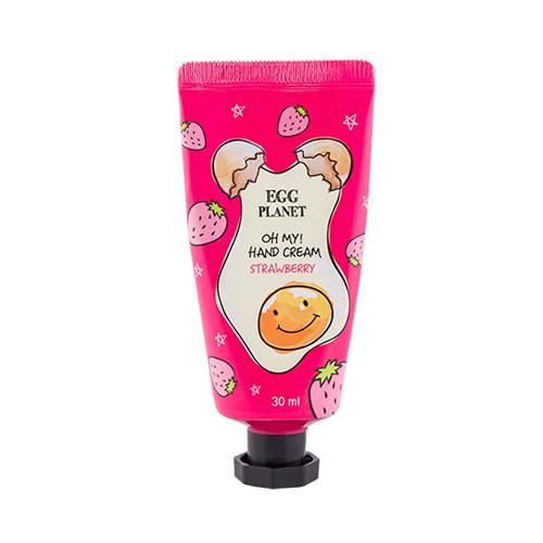 Крем для рук с ароматом клубники Daeng Gi Meo Ri Egg Planet Hand Cream Strawberry - 30мл