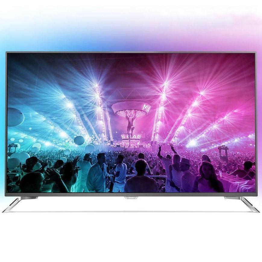 Телевизор Philips 55PUS7101/12 (55 дюймов, PPI 2000Гц, 4K Ultra HD, Smart Android, DVB-С/T2/S2)