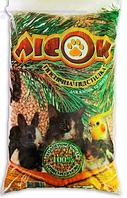 Наполнитель древесный для клеток и лотков разных видов животных Лори Лесок-3 эконом 7,5 кг