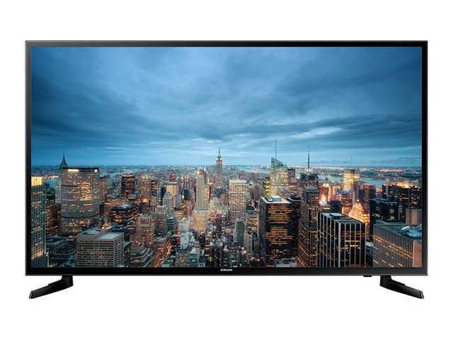 Телевизор Samsung UE55JU6000 (55 дюймов, 800Гц, Ultra HD 4K, Smart TV, Wi-Fi)