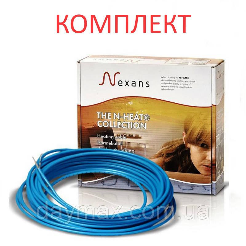 Электрический тёплый пол NEXANS TXLP/1, 1000 Вт, 17Вт/м (КОМПЛЕКТ)