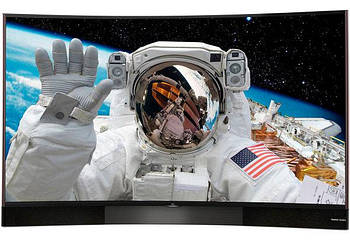 Телевизор TCL U55S8866S (PPI 1600Гц, Ultra HD, Smart, 2x15 Вт + 20 Вт сабвуфер, DVB-C/T2/S2, изогнутый экран)