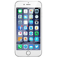 Apple iPhone 6 64GB Silver Refurbished (hub_BXDo93130)