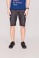 Мужские джинсовые шорты Outfits - Сlassic Heather Gray темно-серые (чоловічі шорти)