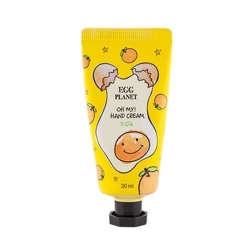 Крем для рук с ароматом цитрусовых Daeng Gi Meo Ri Egg Planet Hand Cream Yuja - 30 мл