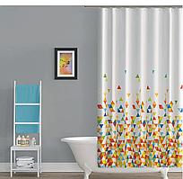 Шторка в ванную World of colors