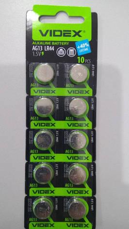 Батарейка Videx  AG13/LR44, фото 2