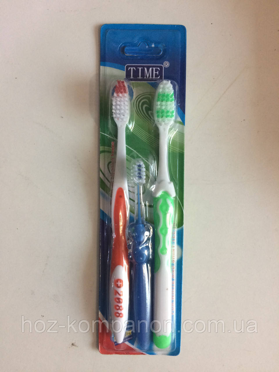 Зубная щетка семейная