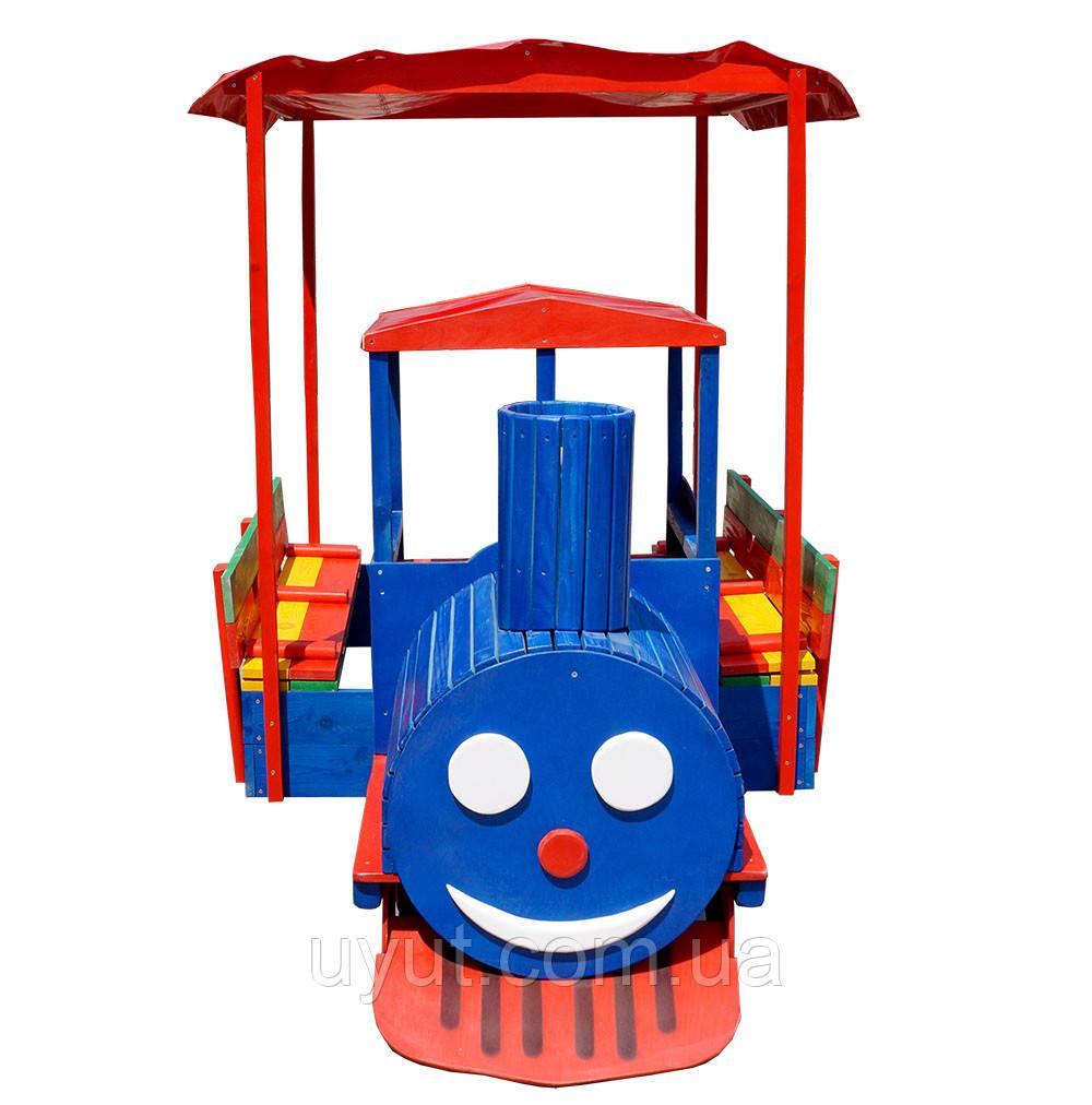 Песочница паровоз