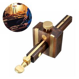 Черное дерево + медь Подписчик винт резки оценить 8inch/200мм знак скребок износостойкие плотник инструмент деревообрабатывающий 1TopShop