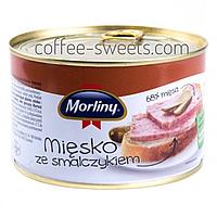 Тушенка Morliny Miesko ze smalczykiem 400г