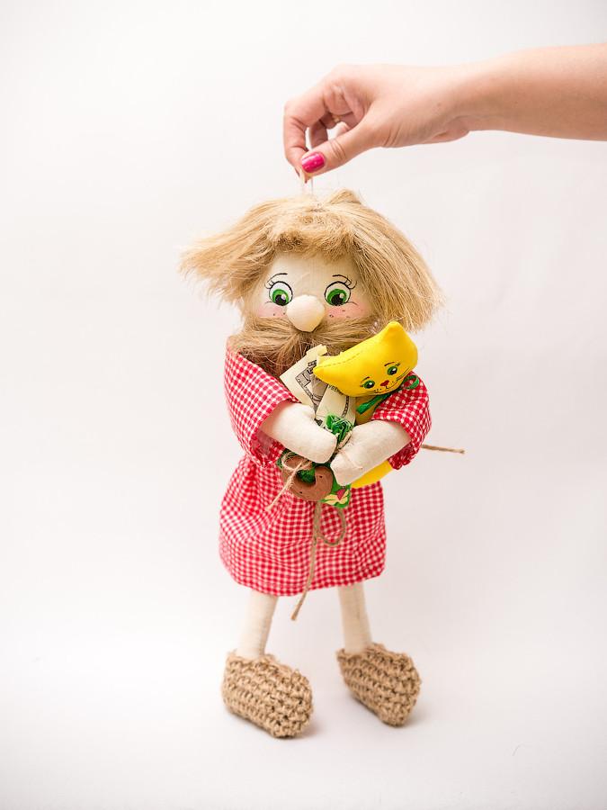 Кукла домовой для взрослых
