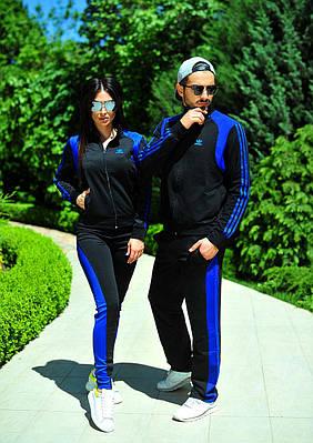 Спортивный  костюм для двоих в стиле Adidas