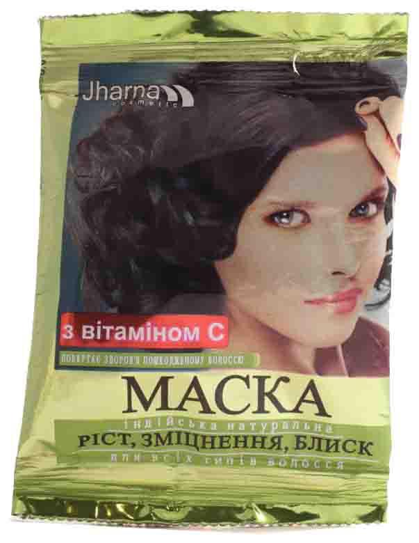 Jharna. Маска для роста, укрепления и блеска волос, 25 г