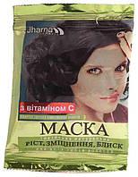 Маска Triuga Jharna с витамином С для роста, укрепления и блеска волос 25 г