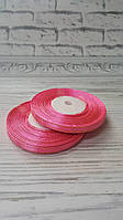 Лента  розовый атлас 0,6 мм, 36 ярдов