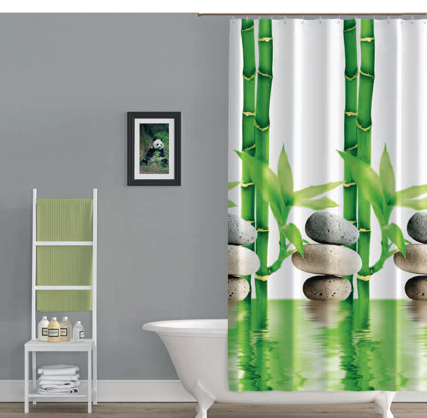 """Шторка в ванную Jackline """"Bamboo"""""""