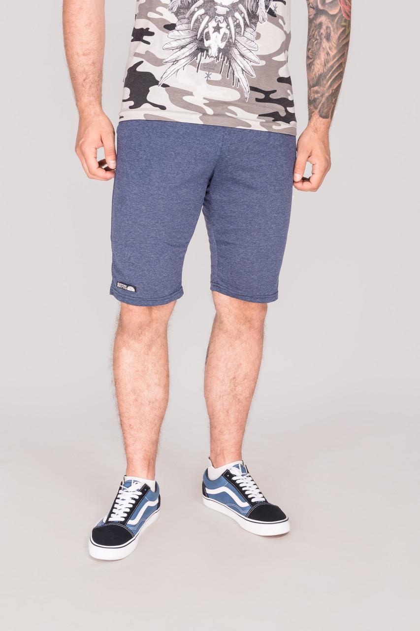 Мужские трикотажные шорты Outfits - Heather Синий меланж (чоловічі шорти)