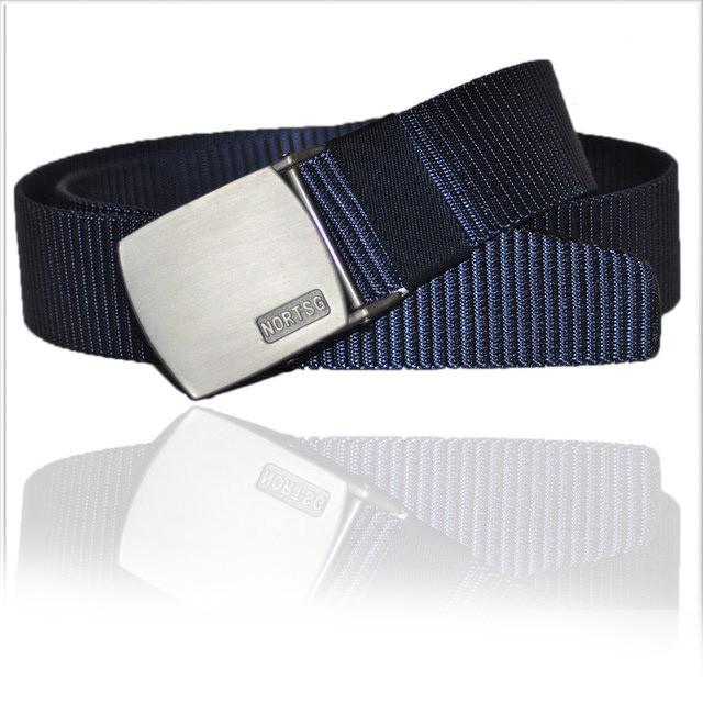 Ремень мужской унисекс джинсовый тканевый TIA 40 мм